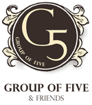 Group of Five & Friends Logo